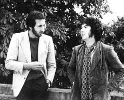 Pete Townshend & Ronnie Lane (image from LastFM)